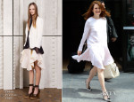 Julianne Moore In Chloé - Out In New York City
