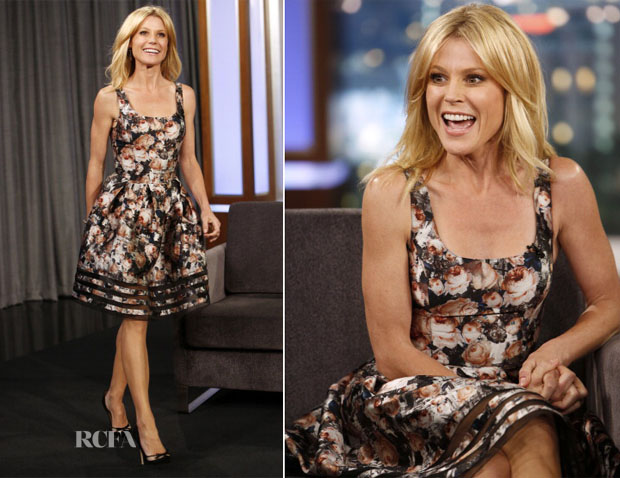 Julie Bowen In SB47 - Jimmy Kimmel Live!