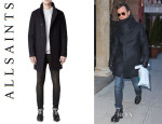 Justin Theroux's AllSaints 'Marsh' Coat