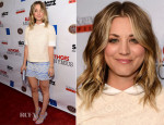 Kaley Cuoco In Tory Burch - 'Authors Anonymous' LA Screening
