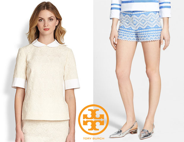 Kaley Cuoco In Tory Burch