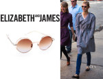 Karlie Kloss' Elizabeth and James 'Hoyt' Sunglasses