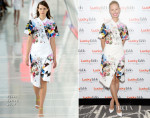 Karolina Kurkova In Preen - Lucky FABB: Fashion and Beauty Blog Conference