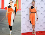 Karolina Kurkova In Roksanda Ilincic - 'For The Love of Cinema' Dinner Party