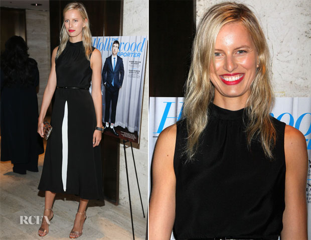 Karolina Kurkova In Tamara Mellon - The Hollywood Reporter's 35 Most Powerful People In Media Celebration