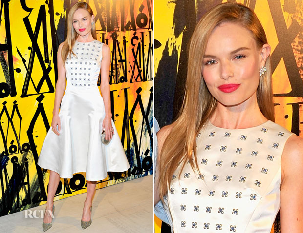 Kate Bosworth In Christian Dior - Jimmy Choo's CHOO