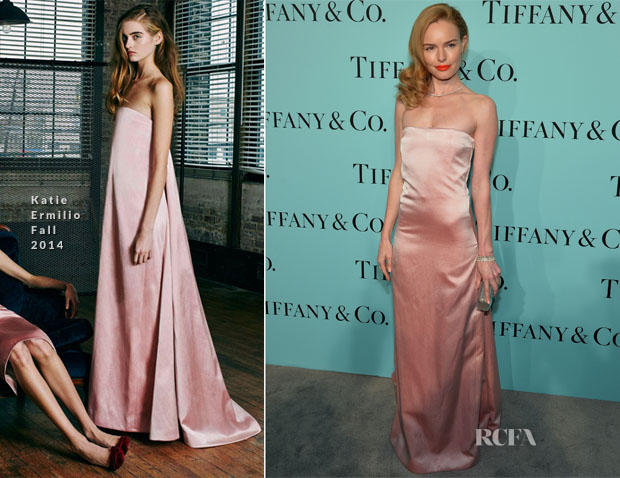 Kate Bosworth In Katie Ermilio - Tiffany & Co Celebrates The 2014 Blue Book