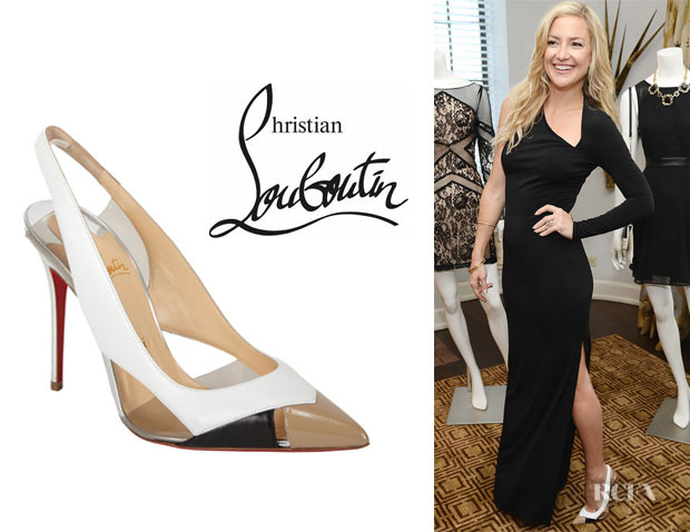 Kate Hudson's Christian Louboutin 'Air Chance' Slingback Pumps