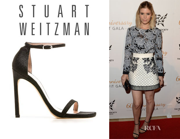 Kate Mara's Stuart Weitzman 'Nudist' Sandals