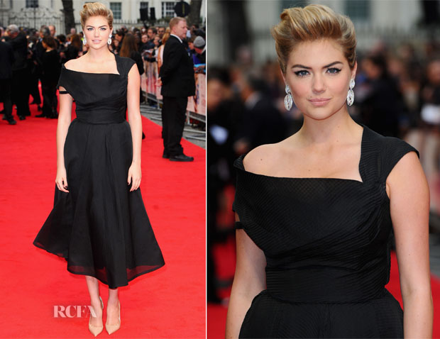 Kate Upton In WilliamVintage - 'The Other Woman' London Premiere