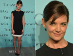 Katie Holmes In Balenciaga - Tiffany & Co. Celebrates The 2014 Blue Book