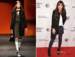 Katie Holmes In Prada - 'Boulevard' Tribeca Film Festival Premiere