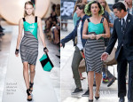 Katy Perry In Roland Mouret - Jimmy Kimmel Live