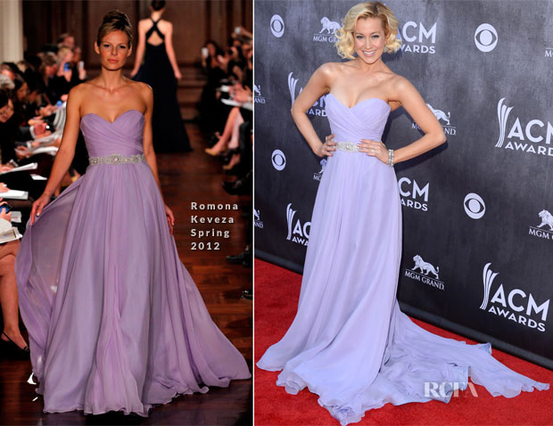 Kellie Pickler In Romona Keveza - ACM Awards 2014