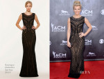 Kimberly Perry In Georges Hobeika Spring 2014 - ACM Awards 2014