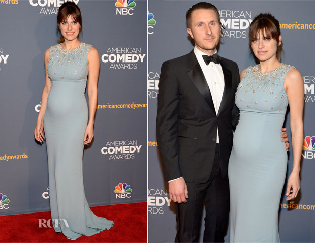 Lake Bell In Dolce & Gabbana - American Comedy Awards 2014