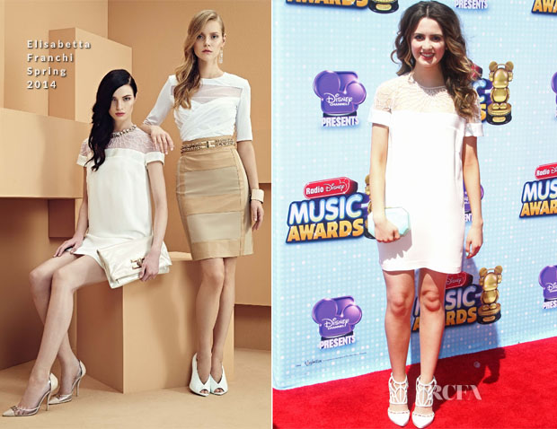 Laura Marano In Elisabetta Franchi  - Disney Channel Presents 2014 Radio Disney Music Awards