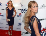 Laura Vandervoort In Badgley Mischka - 8th Annual BritWeek Launch Party