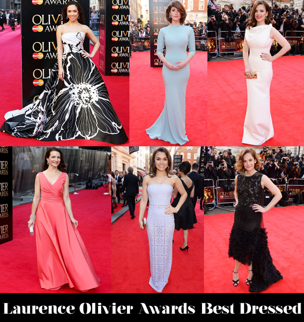 Laurence Olivier Awards Best Dressed