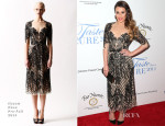 Lea Michele In Naeem Khan - Jonsson Cancer Center Foundation's 19th Annual 'Taste For A Cure'