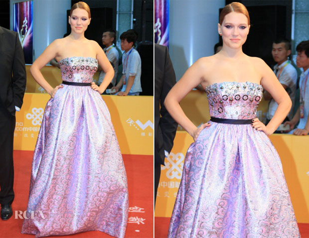 Lea Seydoux In Miu Miu - 4th Beijing Film Festival