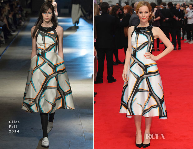 Leslie Mann In Giles - 'The Other Woman' London Premiere