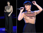 Lily Allen In Pauline Trigere from WilliamVintage - City Rocks At the Royal Albert Hall