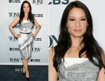 Lucy Liu In Dolce & Gabbana - 2014 Tony Awards Nominations Ceremony