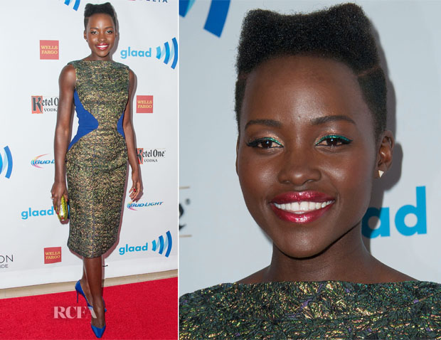 Lupita Nyong'o In Antonio Berardi - 25th Annual GLAAD Media Awards