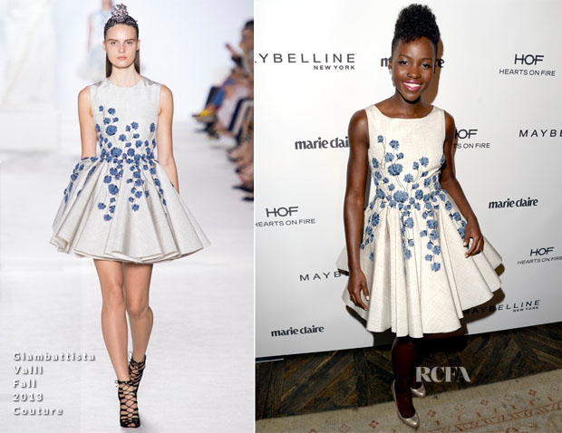 Lupita Nyong'o In Giambattista Valli - Marie Claire Celebrates May Cover Stars