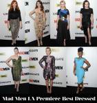 Who Was Your Best Dressed At The 'Mad Men' LA Premiere?