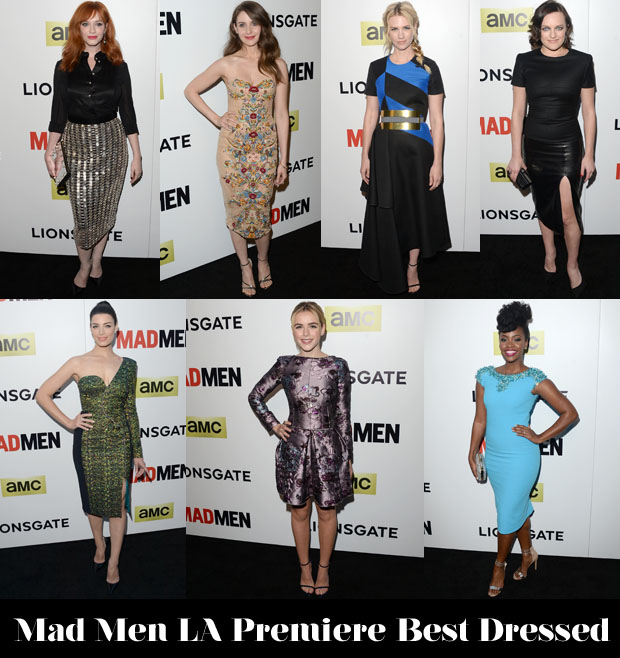 Mad Men LA Premiere