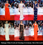Who Was Your Best  Dressed At The Malaga Film Festival Closing Ceremony?