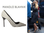 Mariah Carey's Manolo Blahnik 'BB' Polka Dot Pumps