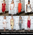Who Was Your Best Dressed At Marie Claire's Fresh Faces Party?