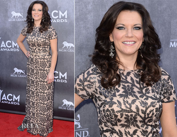Martina McBride In David Meister - ACM Awards 2014