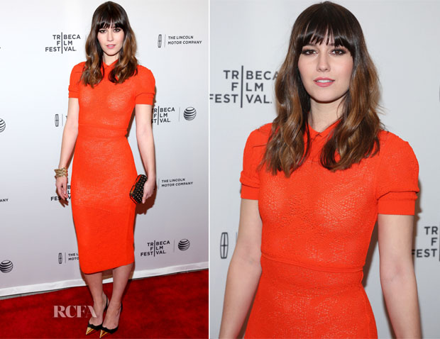 Mary Elizabeth Winstead In Vionnet - 'Alex of Venice' Tribeca Film Festival Premiere