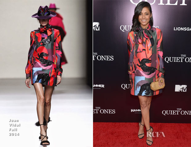 Meta Golding In Juan Vidal - 'The Quiet Ones' LA Premiere