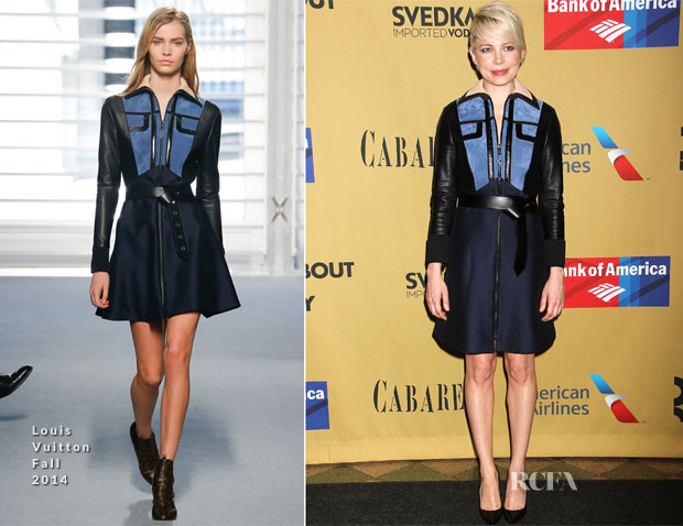 Michelle Williams In Louis Vuitton - 'Cabaret' Broadway Opening Night After Party