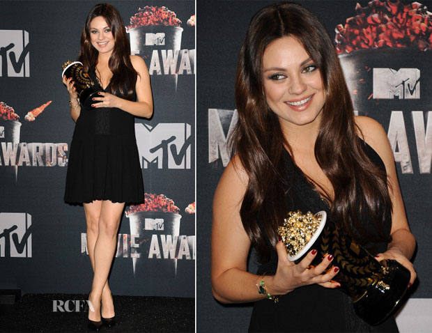 Mila Kunis In Thakoon - MTV Movie Awards 2014