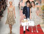 Miranda Kerr In Michael Kors - Samantha Thavasa Promo Event