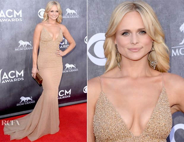 Miranda Lambert In Randi Rahm - ACM Awards 2014