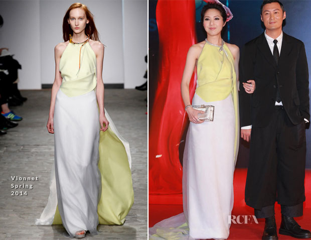 Miriam Yeung In Vionnet - 33rd Hong Kong Film Awards
