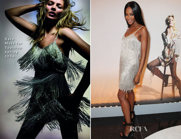 Naomi Campbell In Kate Moss for Tophshop - Kate Moss For Topshop Launch