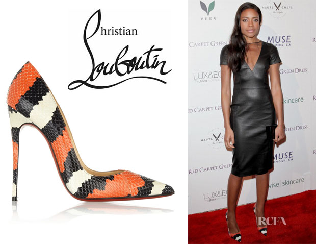 Naomie Harris' Christian Louboutin 'So Kate' Pumps
