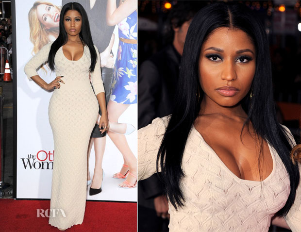 Nicki Minaj In Alexander McQueen - 'The Other Woman' LA Premiere