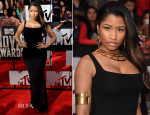 Nicki Minaj In Alexander McQueen - MTV Movie Awards 2014
