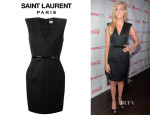 Nicola Peltz' Saint Laurent Fitted Dress