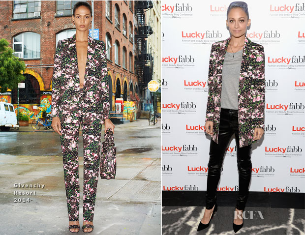 Nicole Richie In Givenchy - Lucky FABB Fashion and Beauty Blog Conference