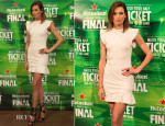 Nieves Alvarez In Emilio Pucci - Heineken Road To The Final Event